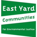 East Yard Communities for Environmental Justice green and white flag logo
