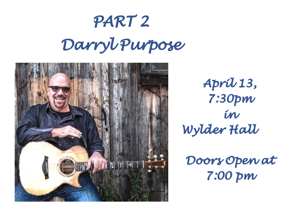 Part 2 - Darryl Purpose